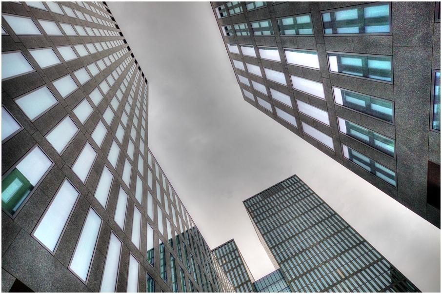 Der Bürokomplex Hagenholzstrasse