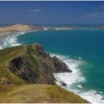 Blick vom Cape Reinga zum Cape Maria van Diemen