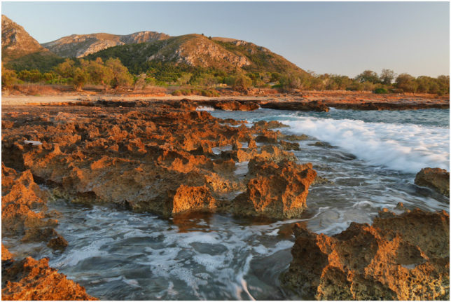 An einem warmen Sommerabend an der mallorquinischen Küste...