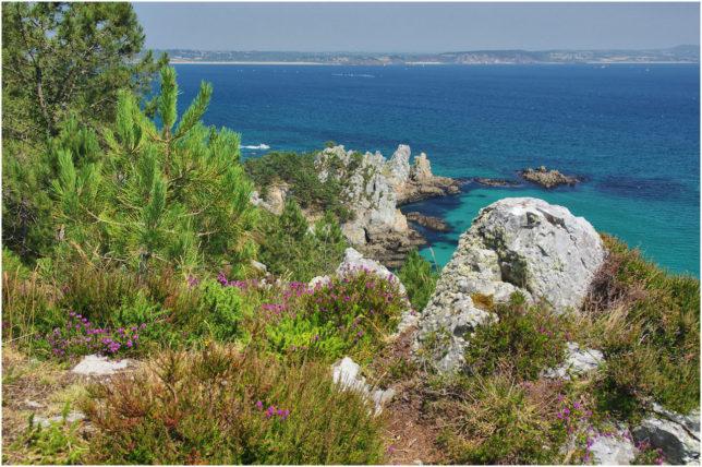 Ein erster Blick auf die Spitze der Halbinsel
