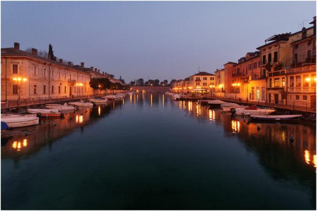 Am Hafen von Peschiera del Garda