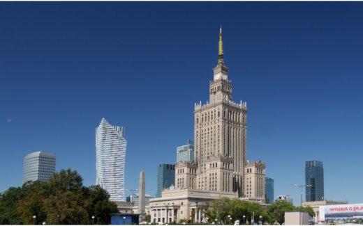 Im Zentrum von Warschau