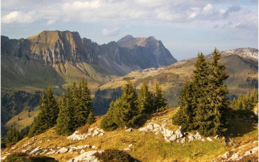 Landschaft am Pragelpass