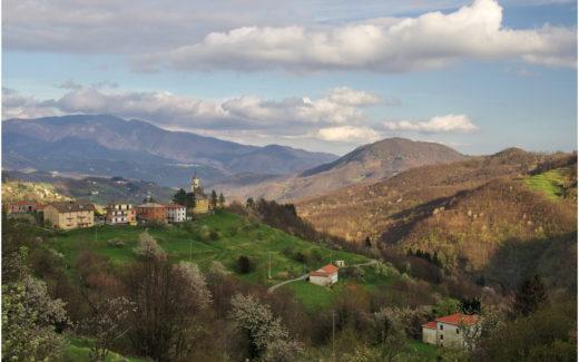 Das Dorf Cassego an der Grenze zur Emilia-Romagna