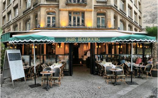 Restaurant an der Rue Saint-Merri