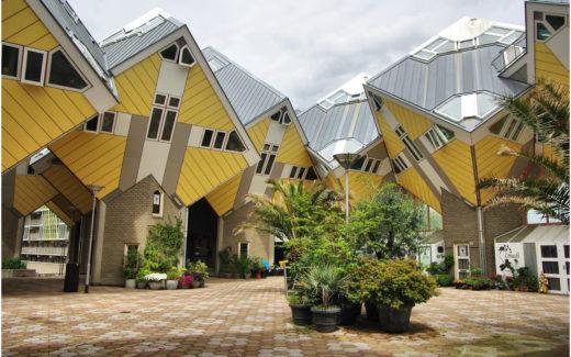 Die Cubic Houses in Rotterdam