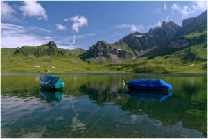 Boote am Melchsee