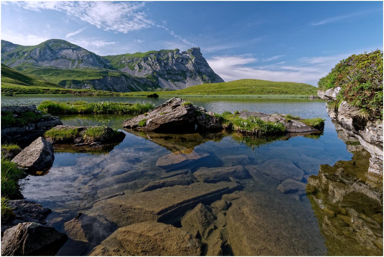 Landschaft am Blausee