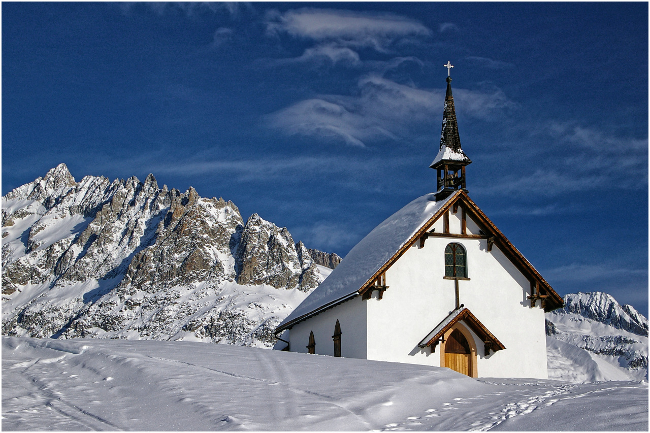 Die Kapelle im Aletschbord