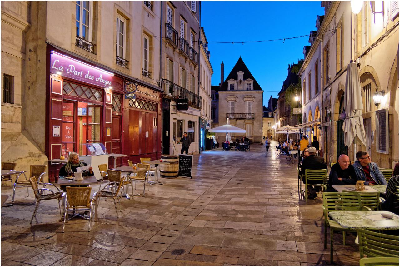 Blick in die Rue Vauban