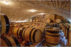 Der Ort der ersten Degustation - Weinkeller in Meursault