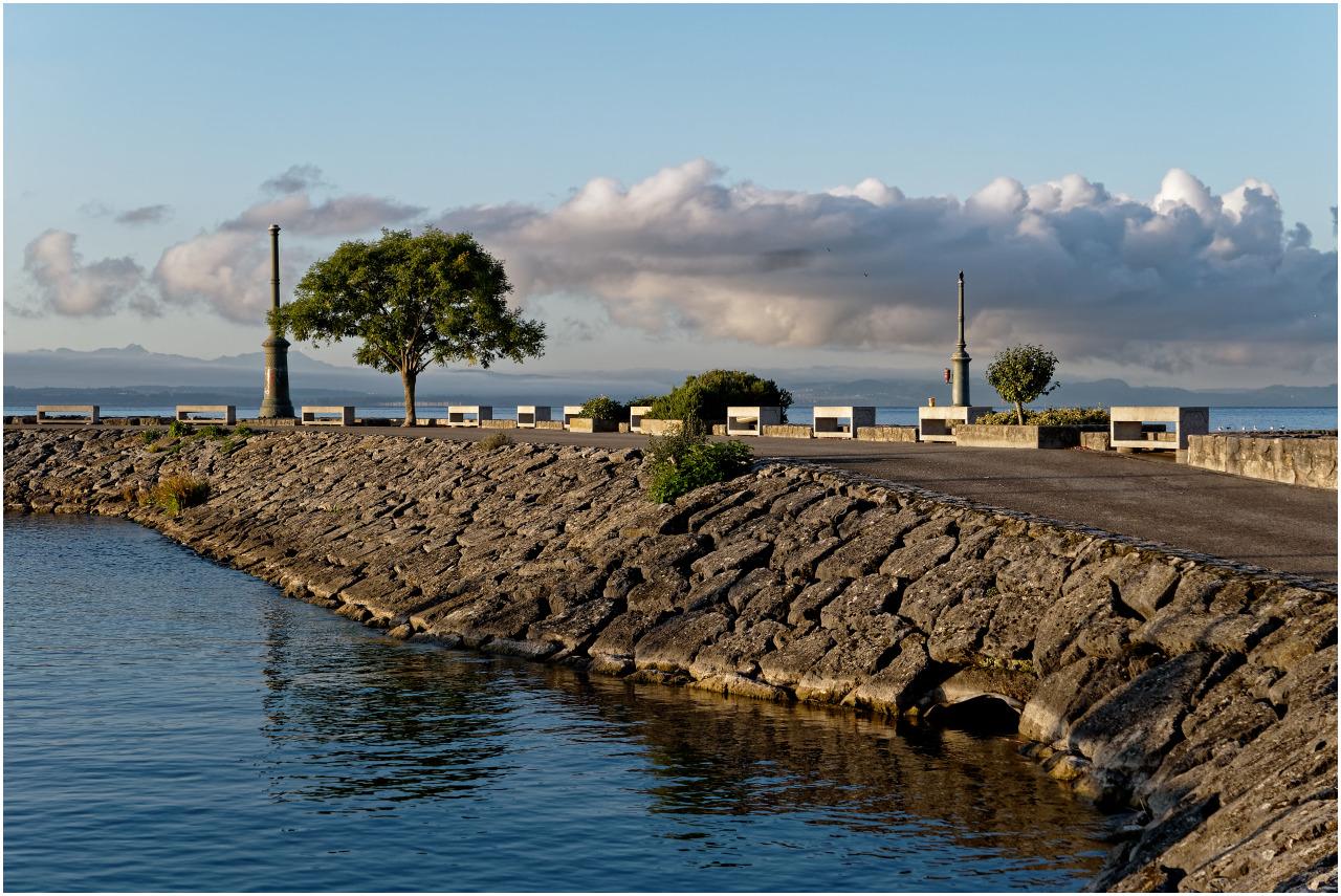 Der Pier etwas weiter vorne am Port de Plaisance