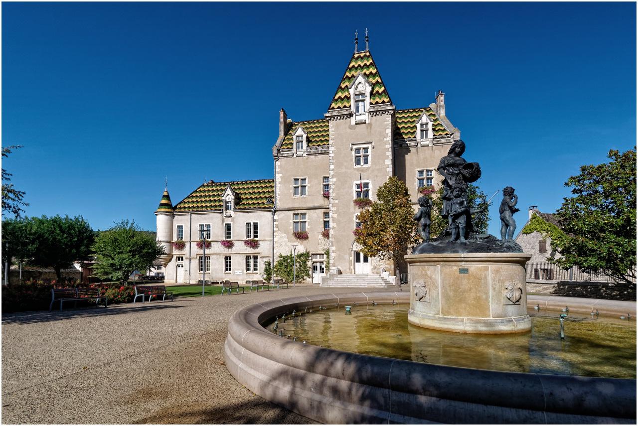 Das Château de Meursault im gleichnamigen Dorf