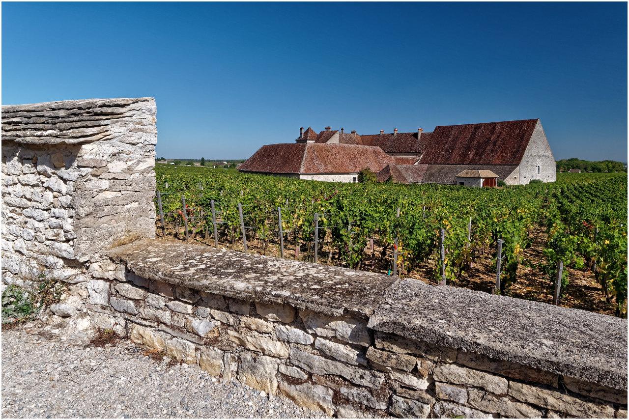 Clos du Vougeot - der Herkunftsort unseres besten Weins :-) ...