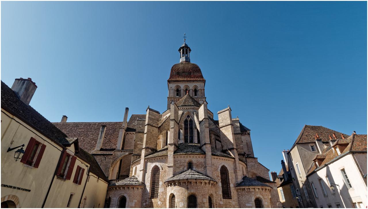 Die Basilika von Beaune