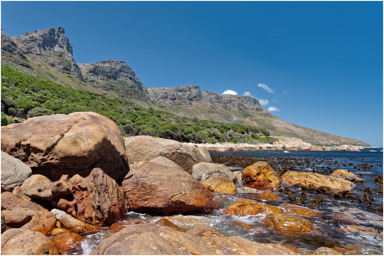 Felsige Bucht ausgangs Camps Bay