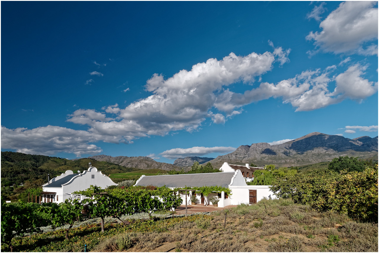 Das Dunstone Wine Estate im Bovlei Valley bei Wellington