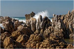 Felsenküste in Kleinmond