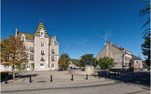 Das Schloss in Meursault