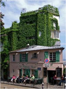 La Maison Rose in Montmartre