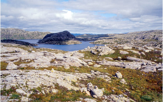 Ausblick von der Strasse zum Lysefjord