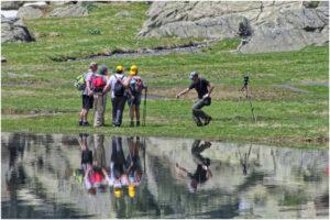 Die Wandergruppe und ihr Fotograf ;-) ...