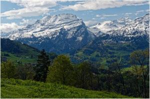 Ausblick von der Strasse zur Ibergeregg