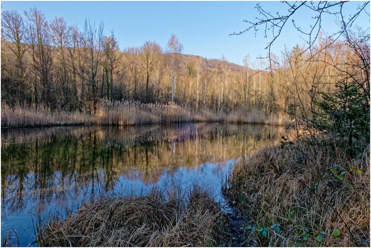 Einer der kleineren Seen im Aarschachli