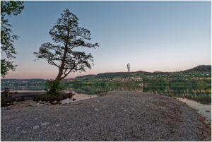 Halbinselchen bei der Mündung des Dorfbachs Meisterschwanden