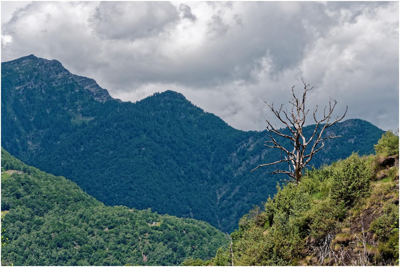 Wildromantische Landschaft im Valle del Salto