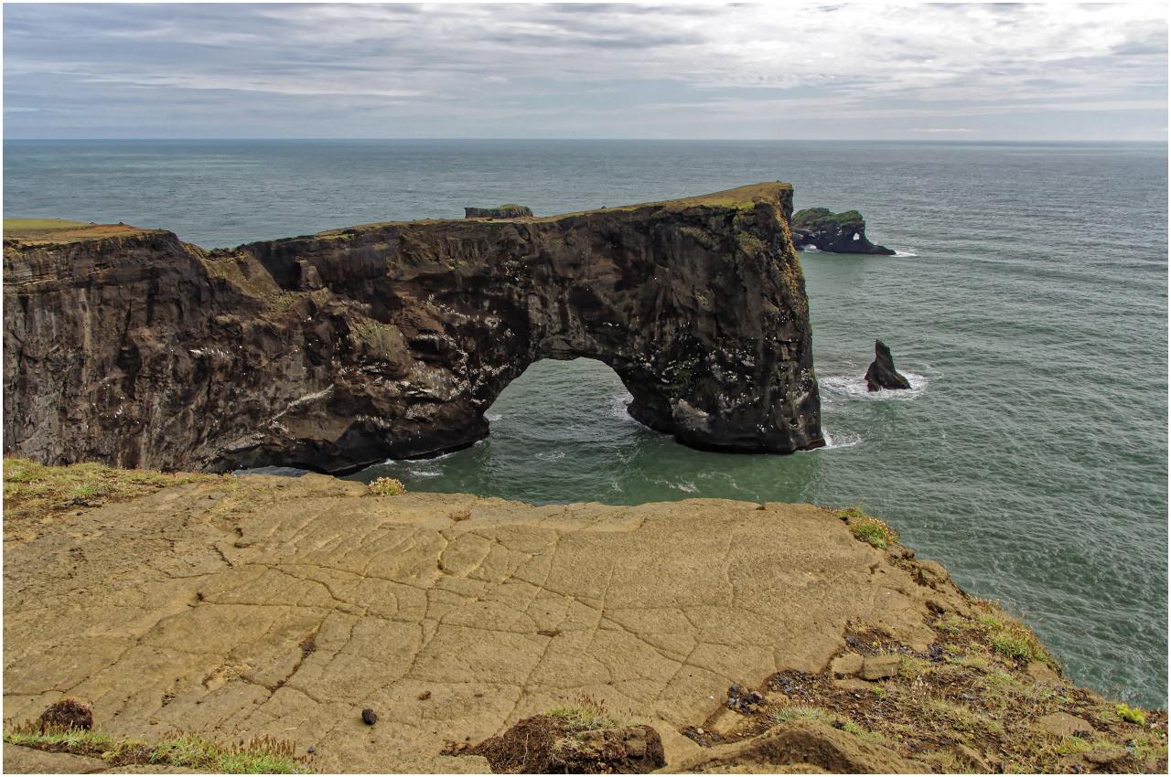 Das eigentliche Kap - die Halbinsel mit dem Felsentor