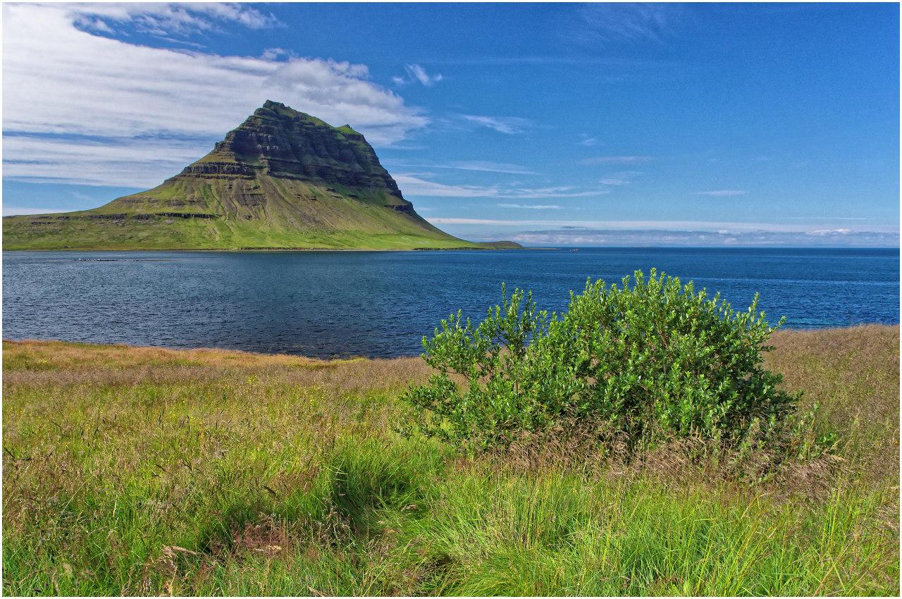 Isländische Ikone: der Kirkjufell