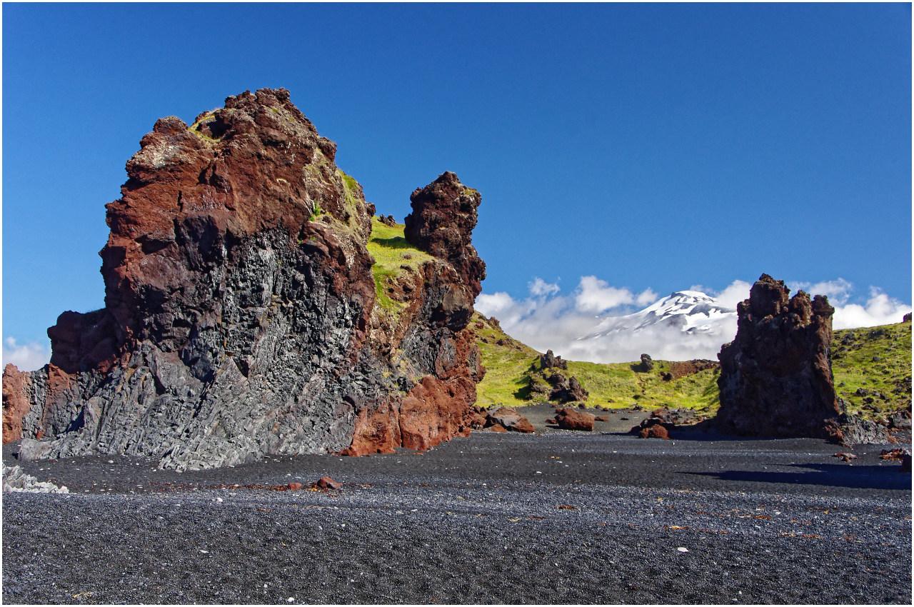 Am magischen Strand von Djupalónsandur