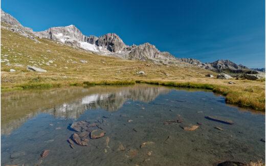 Kleiner Bergsee in den Galenböden
