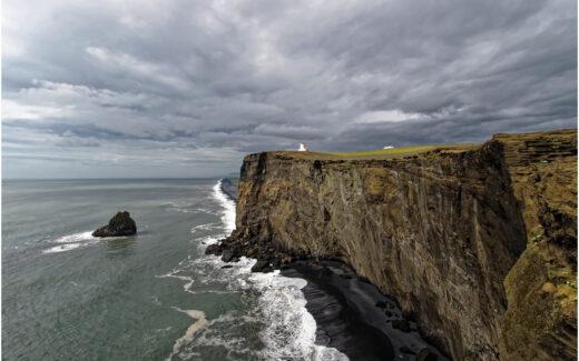 Ausblick vom Kap Dyrhólaey