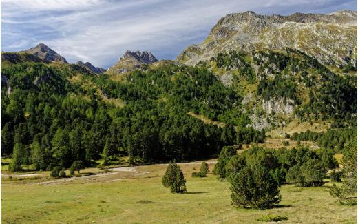 Landschaft am Lukmanier