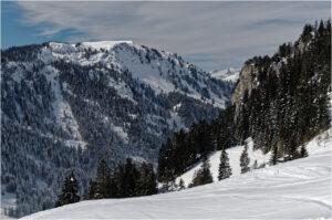 Imposante Winterlandschaft