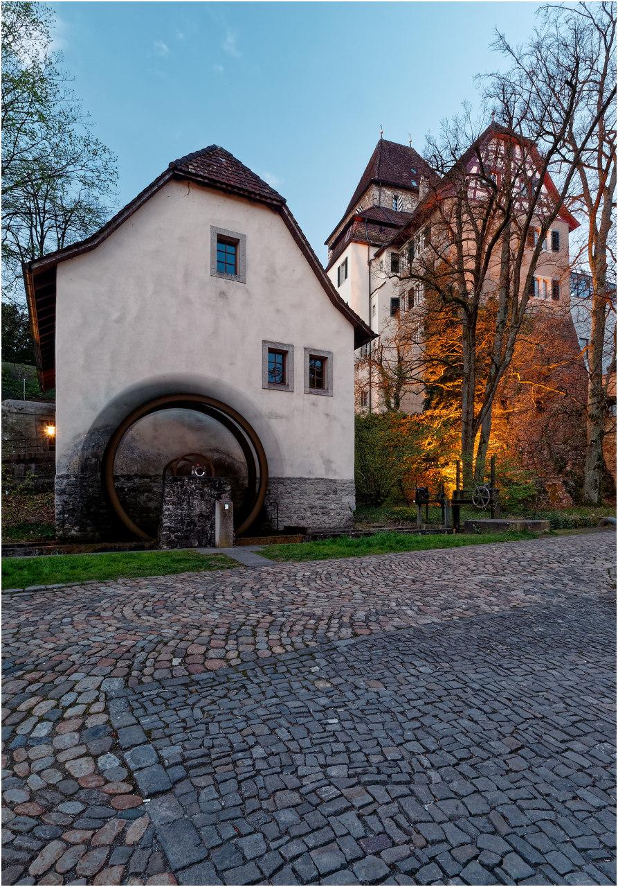 Die historische Mühle und das Schlössli