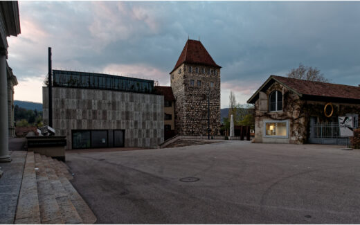 Das Aarauer Stadtmuseum mit dem Schlössli
