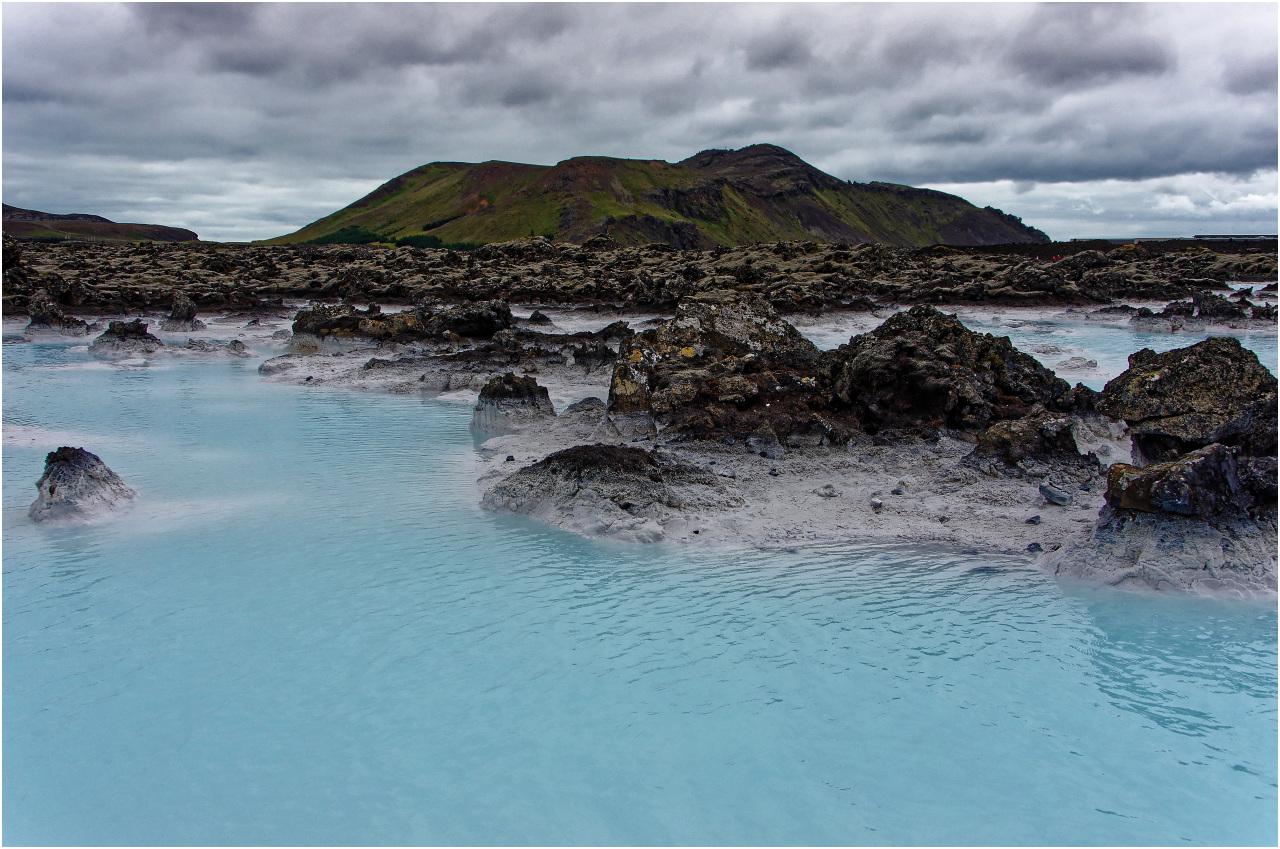 Blick über die Blaue Lagune