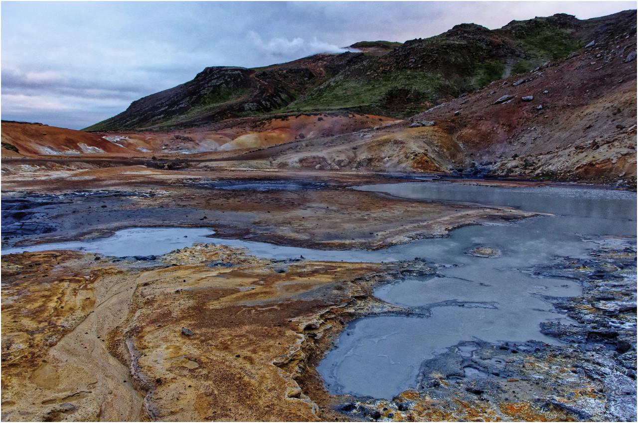 Im Geothermalgebiet Seltún