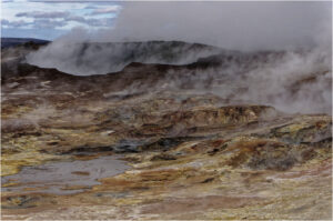 Das Vulkanfeld Gunnuhver