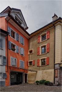 In der Altstadt vom Montreux