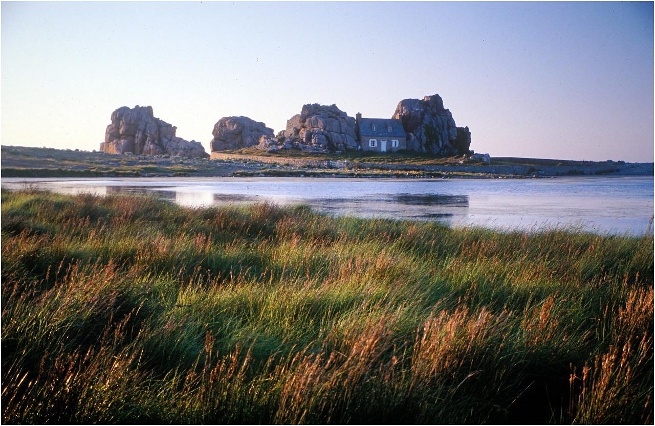 Ein Klassiker: Das Maison entre les roches bei Kéravel
