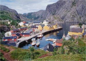 Das Fischerdorf Nusfjord