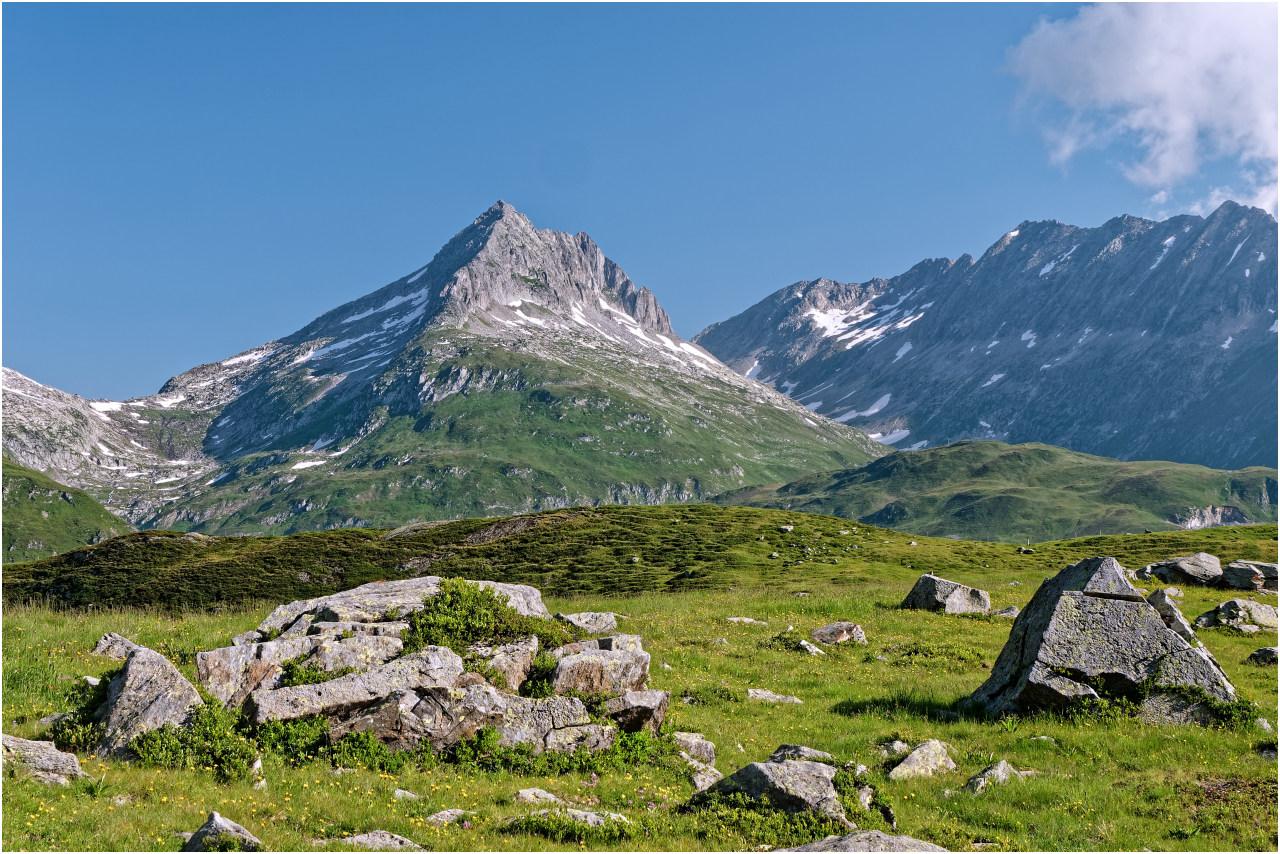 Landschaft auf der Hochebene Plidutscha