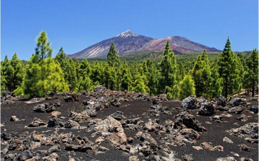Arenas Negras und der Teide