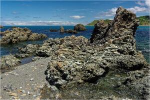 Felsformationen an der Palmer Bay