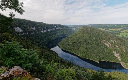 Blick auf den Lac de Moron