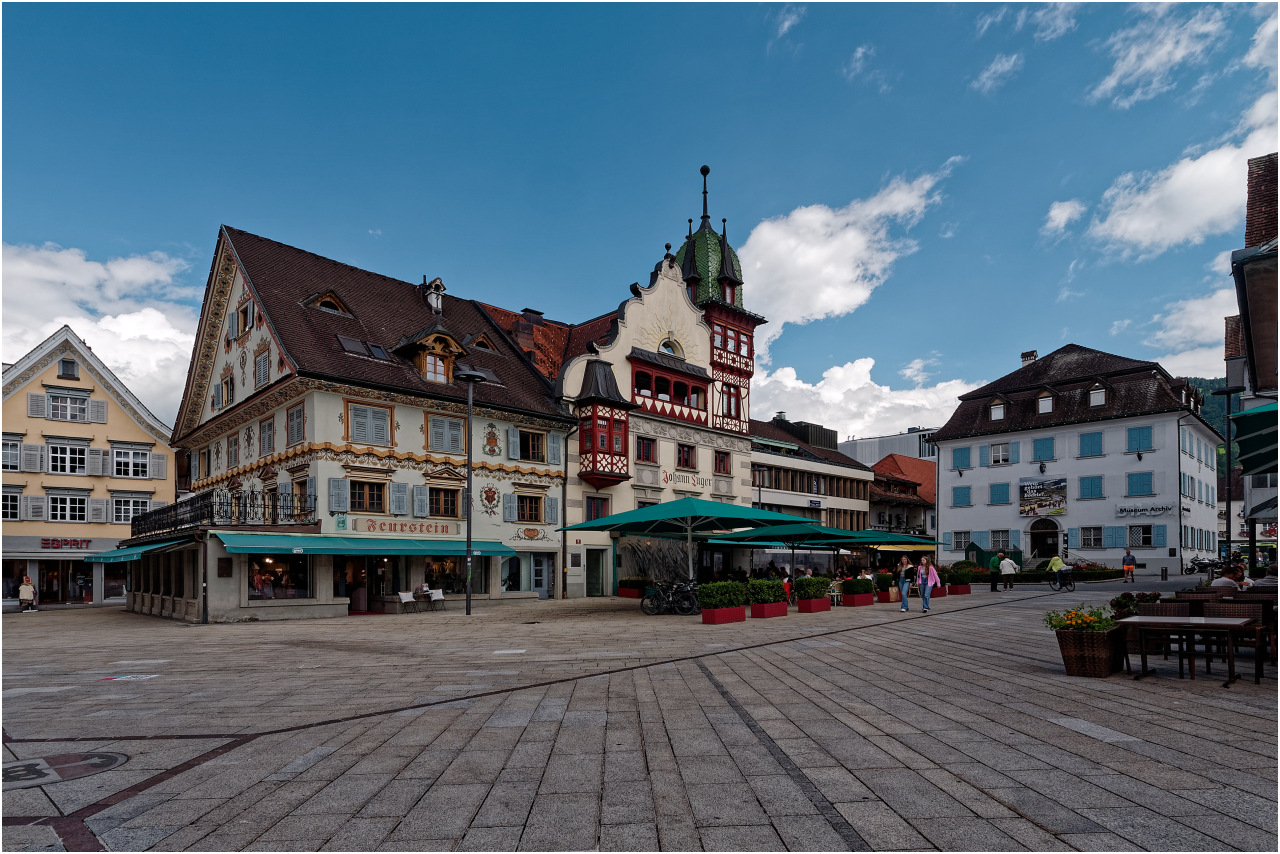 Der Marktplatz in Dornbirn